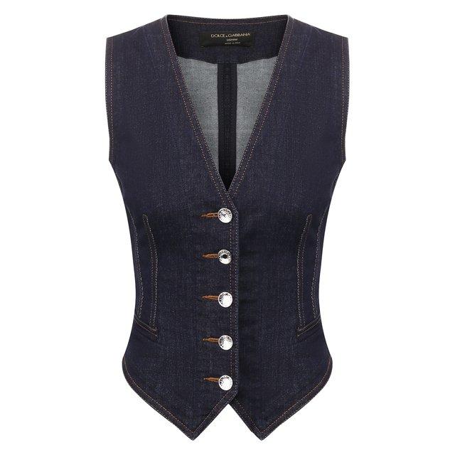Джинсовый жилет Dolce & Gabbana