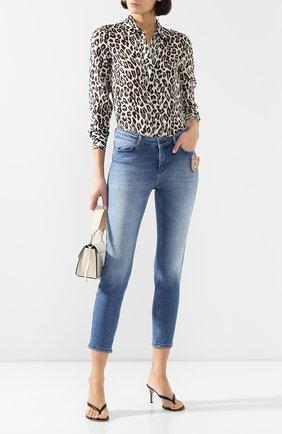 Женские джинсы ESCADA SPORT голубого цвета, арт. 5032814 | Фото 2