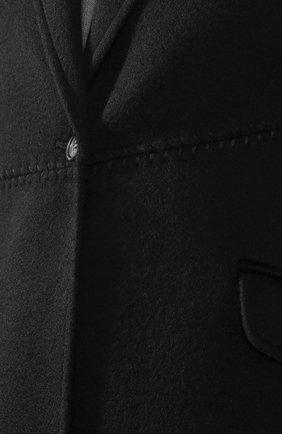 Женское кашемировое пальто GABRIELA HEARST черного цвета, арт. 320608A C003   Фото 5