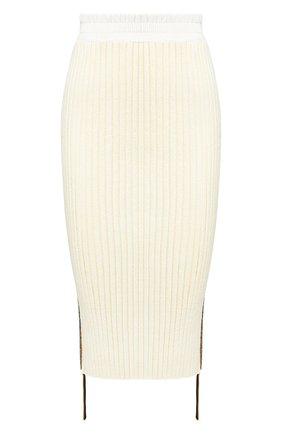 Женская юбка MONCLER кремвого цвета, арт. F1-094-9H701-00-C9031 | Фото 1