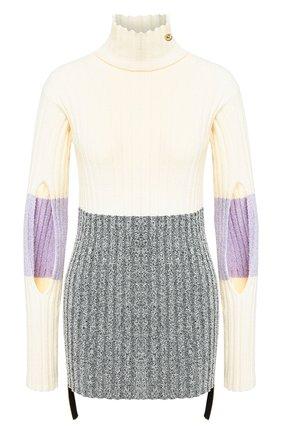 Женская свитер MONCLER кремвого цвета, арт. F1-094-9F702-00-C9031 | Фото 1