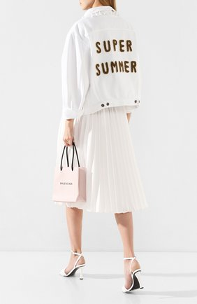 Женская джинсовая куртка FORTE DEI MARMI COUTURE белого цвета, арт. 20SF5380 | Фото 2