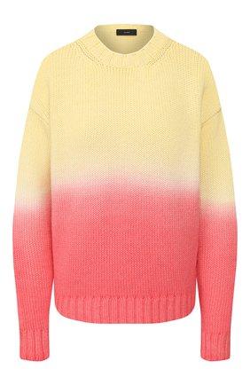 Женская свитер из смеси шерсти и кашемира ALANUI желтого цвета, арт. LWHE009R20105077 | Фото 1