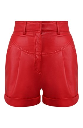 Женские шорты PHILOSOPHY DI LORENZO SERAFINI красного цвета, арт. A0328/740 | Фото 1