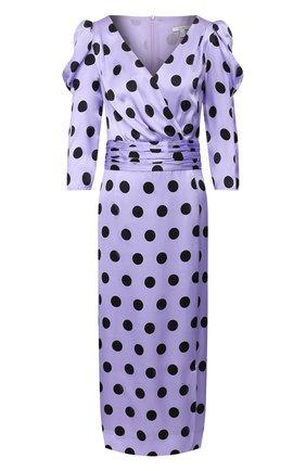 Женское шелковое платье OLIVIA RUBIN сиреневого цвета, арт. 0R0335/DIANA DRESS | Фото 1