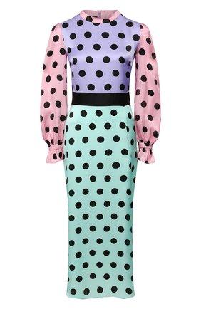 Женское шелковое платье OLIVIA RUBIN разноцветного цвета, арт. 0R0339/MARLEY DRESS | Фото 1