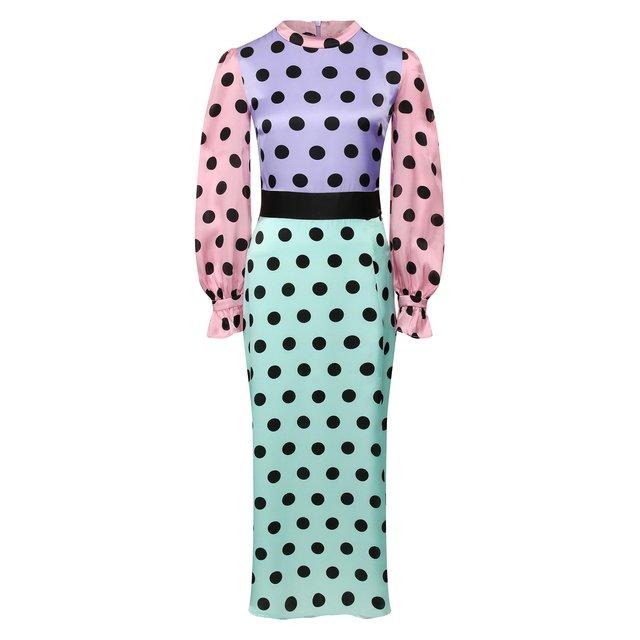 Шелковое платье Olivia Rubin