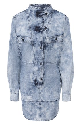 Женское джинсовое платье ISABEL MARANT ETOILE голубого цвета, арт. R01629-20P022E/INAR0A   Фото 1