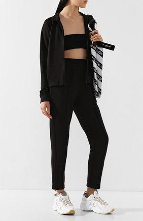 Женские брюки ALEXANDERWANG.T черного цвета, арт. 4CC1204019 | Фото 2