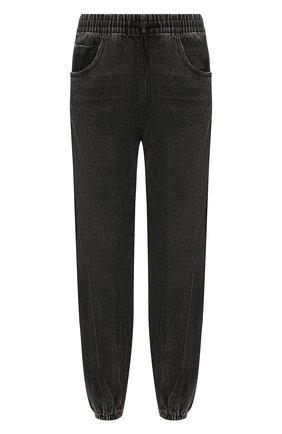Женские джинсы с лампасами DENIM X ALEXANDER WANG серого цвета, арт. 4D994391CF | Фото 1