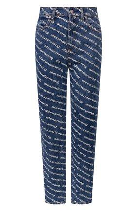 Женские джинсы DENIM X ALEXANDER WANG синего цвета, арт. 4DC1204643 | Фото 1
