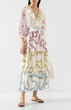 Женское платье из вискозы A MERE CO разноцветного цвета, арт. AMC/SS2022 | Фото 2