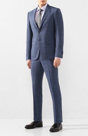 Мужская хлопковая сорочка ETON сиреневого цвета, арт. 3000 79011 | Фото 2