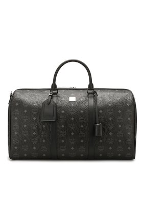 Мужская дорожная сумка MCM черного цвета, арт. MUV 7AVY02 | Фото 1