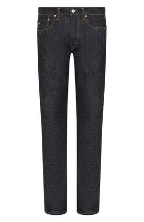Мужские джинсы RRL темно-синего цвета, арт. 782784227 | Фото 1