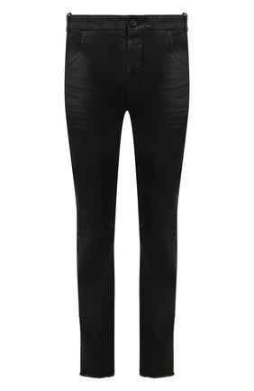 Мужские джинсы MASNADA черного цвета, арт. M2426 | Фото 1