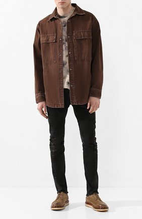 Мужские джинсы MASNADA черного цвета, арт. M2426 | Фото 2