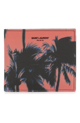 Мужской комбинированное портмоне SAINT LAURENT разноцветного цвета, арт. 396307/HZT5E | Фото 1
