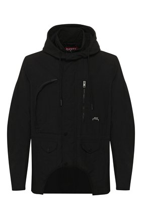Мужская куртка diesel red tag x a-cold-wall* DIESEL RED TAG черного цвета, арт. ACW-JK03 | Фото 1