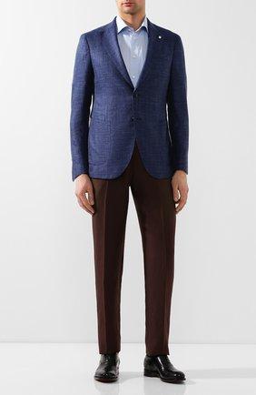 Мужская хлопковая сорочка ETON голубого цвета, арт. 3000 79315 | Фото 2