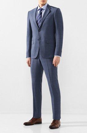 Мужская хлопковая сорочка ETON голубого цвета, арт. 3169 79511 | Фото 2