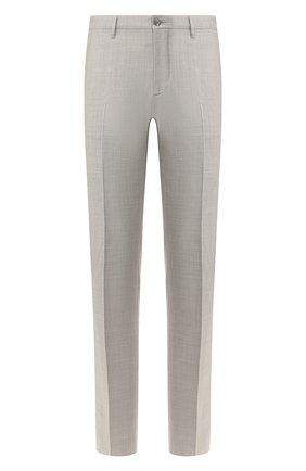 Мужской шерстяные брюки ZILLI светло-серого цвета, арт. M0T-40-38N-C6016/0001 | Фото 1