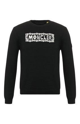 Мужской свитер 2 moncler 1952 MONCLER GENIUS черного цвета, арт. F1-092-9C704-00-V9106 | Фото 1