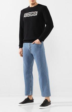 Мужской свитер 2 moncler 1952 MONCLER GENIUS черного цвета, арт. F1-092-9C704-00-V9106 | Фото 2