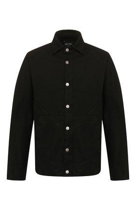Мужская хлопковая куртка ANDREA YA'AQOV черного цвета, арт. 20MDEN36 | Фото 1
