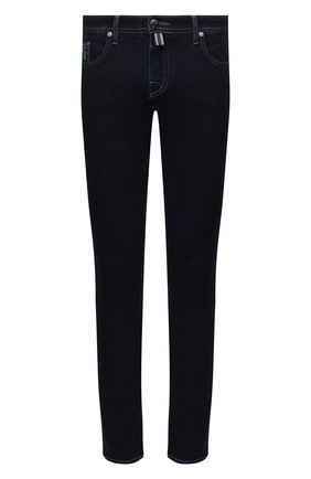 Мужские джинсы VILEBREQUIN темно-синего цвета, арт. VBMP0006-00973-W1 | Фото 1