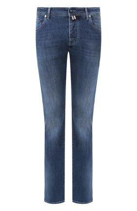 Мужские джинсы VILEBREQUIN синего цвета, арт. VBMP0002-00013-W2 | Фото 1