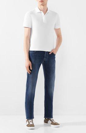 Мужские джинсы VILEBREQUIN синего цвета, арт. VBMP0002-00013-W2 | Фото 2