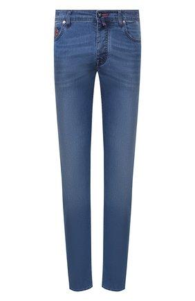 Мужские джинсы VILEBREQUIN голубого цвета, арт. VBMP0001-02023-W2 | Фото 1