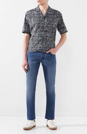 Мужские джинсы VILEBREQUIN голубого цвета, арт. VBMP0001-02023-W2 | Фото 2