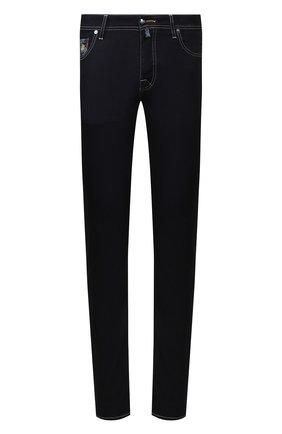 Мужские джинсы VILEBREQUIN темно-синего цвета, арт. VBMP0001-02023-W1 | Фото 1