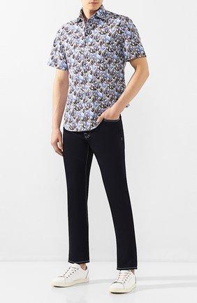Мужские джинсы VILEBREQUIN темно-синего цвета, арт. VBMP0001-02023-W1 | Фото 2