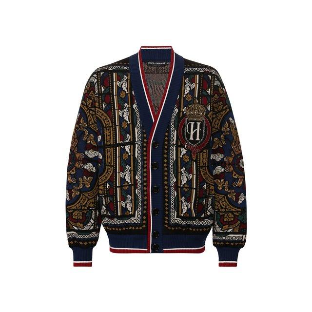 Хлопковый кардиган Dolce & Gabbana