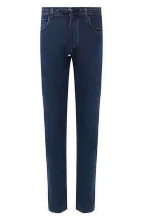 Мужские джинсы CORNELIANI синего цвета, арт. 854JK6-0120162/00 | Фото 1