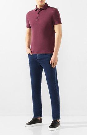 Мужские джинсы CORNELIANI синего цвета, арт. 854JK6-0120162/00 | Фото 2