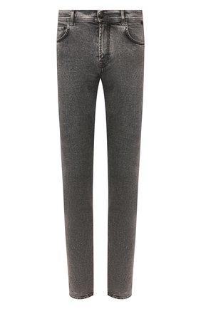 Мужские джинсы CORNELIANI темно-серого цвета, арт. 854JK7-0120164/00 | Фото 1