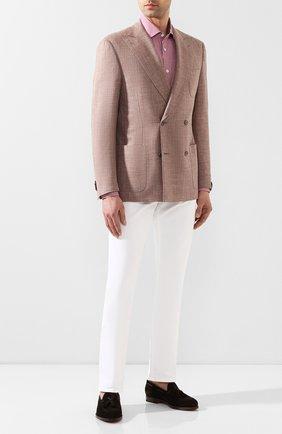 Мужская хлопковая сорочка CORNELIANI розового цвета, арт. 85P010-8111382/00 | Фото 2