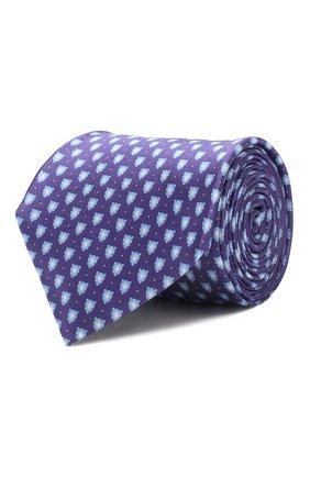 Мужской шелковый галстук CORNELIANI фиолетового цвета, арт. 85U390-0120331/00 | Фото 1