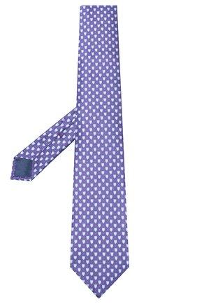 Мужской шелковый галстук CORNELIANI фиолетового цвета, арт. 85U390-0120331/00 | Фото 2