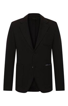 Мужской пиджак GIVENCHY черного цвета, арт. BM307530AE | Фото 1
