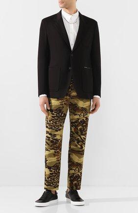 Мужской пиджак GIVENCHY черного цвета, арт. BM307530AE | Фото 2