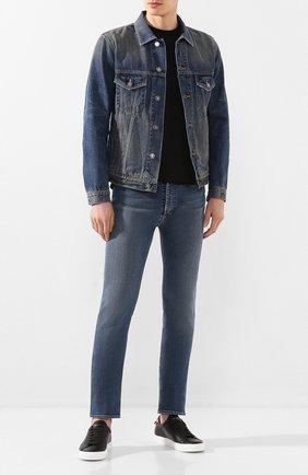 Мужская джинсовая куртка GIVENCHY синего цвета, арт. BM00CY50CN | Фото 2