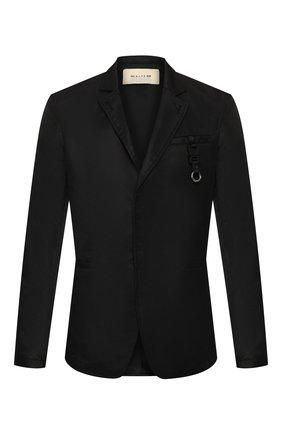 Мужской пиджак 1017 ALYX 9SM черного цвета, арт. AAM0U0076FA01 | Фото 1