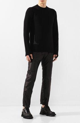 Мужской хлопковый свитер 1017 ALYX 9SM черного цвета, арт. AAMKN0054YA01 | Фото 2