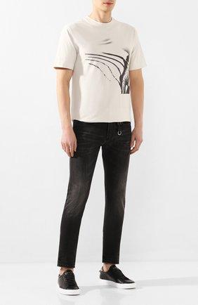 Мужские джинсы 1017 ALYX 9SM черного цвета, арт. AAMPA0085FA01 | Фото 2