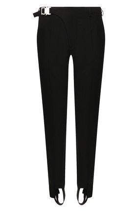 Мужской шерстяные брюки 1017 ALYX 9SM черного цвета, арт. AAMPA0097FA03 | Фото 1
